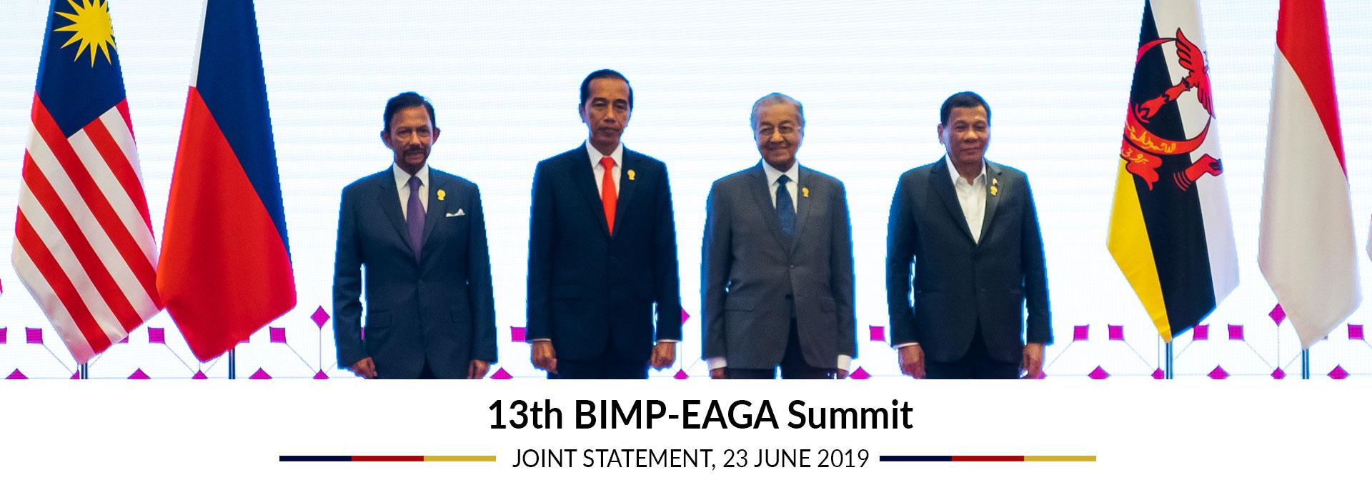 13th BIMP-EAGA Leaders' Summit