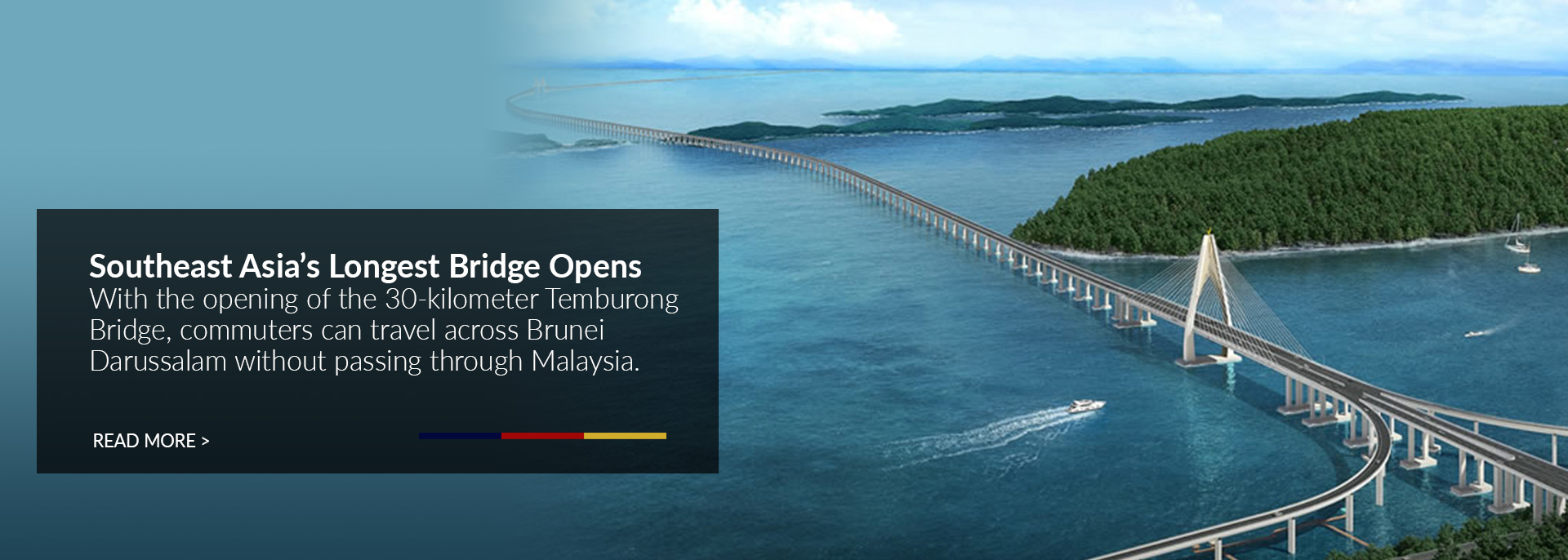 Southeast Asia's Longest Bridge Opens