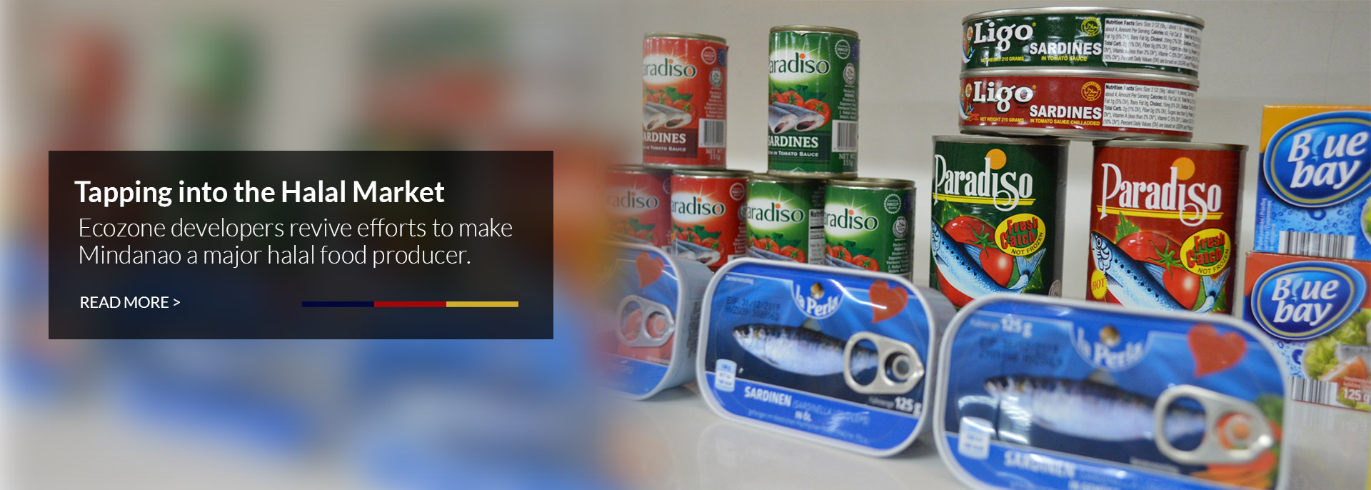 Various canned products
