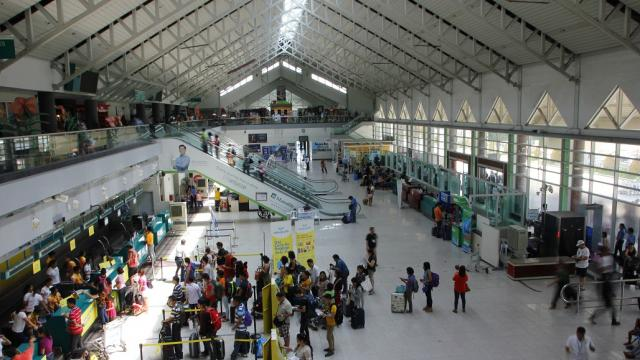 Photo of Davao International Airport in Mindanao, Philippines taken in 2019.
